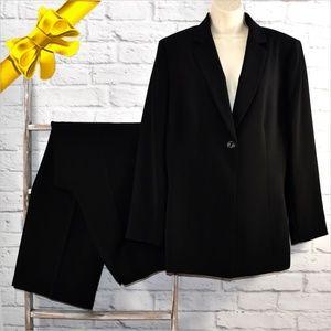 Le Suit Basic Black Pant Suit ~0d0i6p1e1